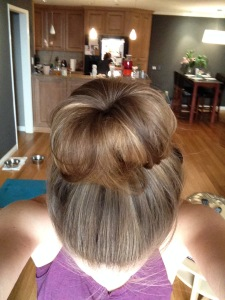 Sock bun: one of my proudest accomplishments of 2014